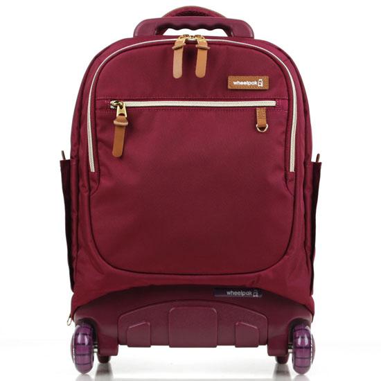 Школьный рюкзак на колесах - ранец Wheelpak Classic Wine - арт. WLP2200 (для 3-5 класса, 21 литр), - фото 1