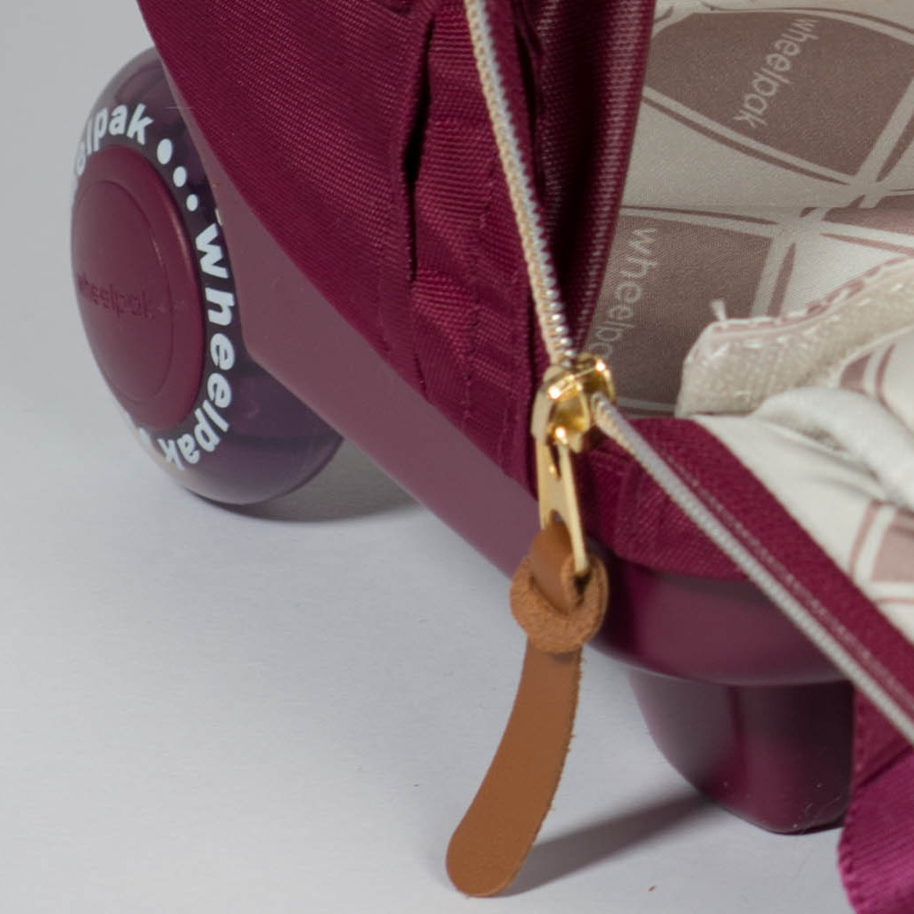 Школьный рюкзак на колесах - ранец Wheelpak Classic Wine - арт. WLP2200 (для 3-5 класса, 21 литр), - фото 2